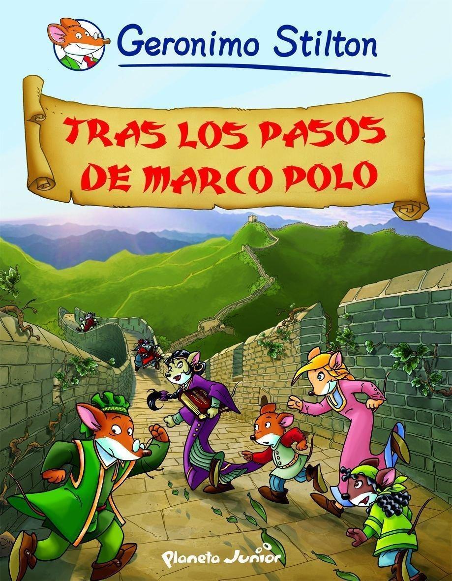 Comics Geronimo Stilton 5. Tras los pasos de Marco Polo (Spanish) Hardcover – 2010