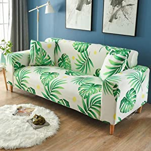 AINH Elastic Sofa Cover,one-Piece Anti-Slip All-Inclusive Couch Cover Four Seasons Universal L Shape Chaise Combination Furniture Protection-44 Chair
