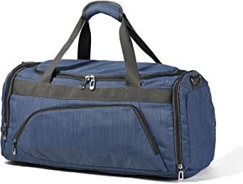 Wohous Gym Bag with Shoe Compartment Travel Duffel Bag