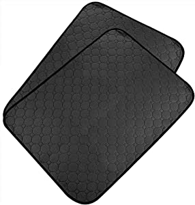 LinkIdea Washable Dog Pee Pads, Waterproof Non-Slip Puppy Training Pads, Reusable Highly Absorbent Whelping Pads Dog Mat Crate Pad 26