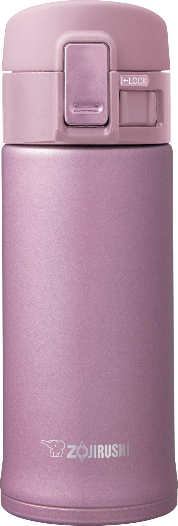 Zojirushi SM-KHE36PT Stainless Mug, 12-Ounce, Lavender/Pink