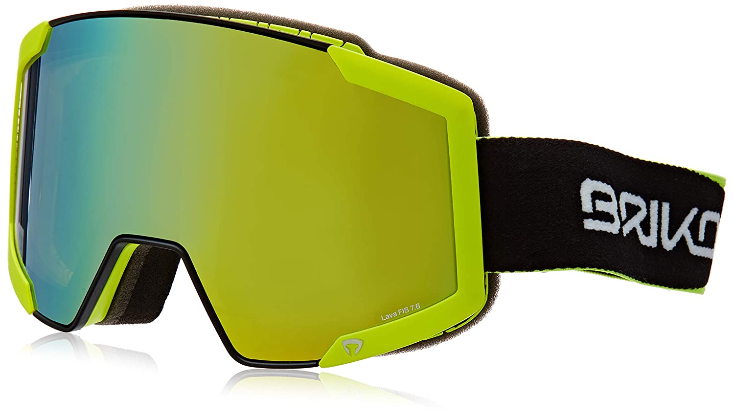 a68322a0a Briko Lava Fis 7.6 2 Lenses, Unisex Adult Glasses, unisex adult, 2001MN0,  C74M Bl/Yellow Fl/Ym2P1, One Size: Amazon.co.uk: Sports & Outdoors