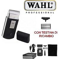 Wahl 3615-0471 - Mobile Shaver Rasoio Cordless, nero