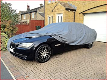 MERCEDES S CLASS 06 ON LWB WATERPROOF LUXURY PREMIUM CAR COVER COTTON LINED
