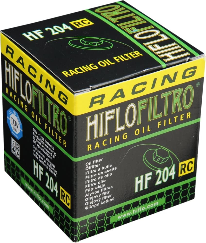 Hiflofiltro Hf204rc Ölfilter Anzahl 1 Auto