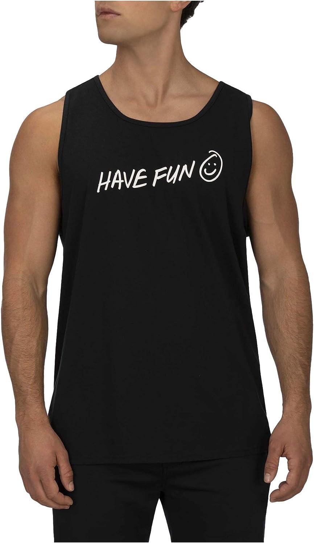Hurley Mens M Have Fun Tank Tanktop
