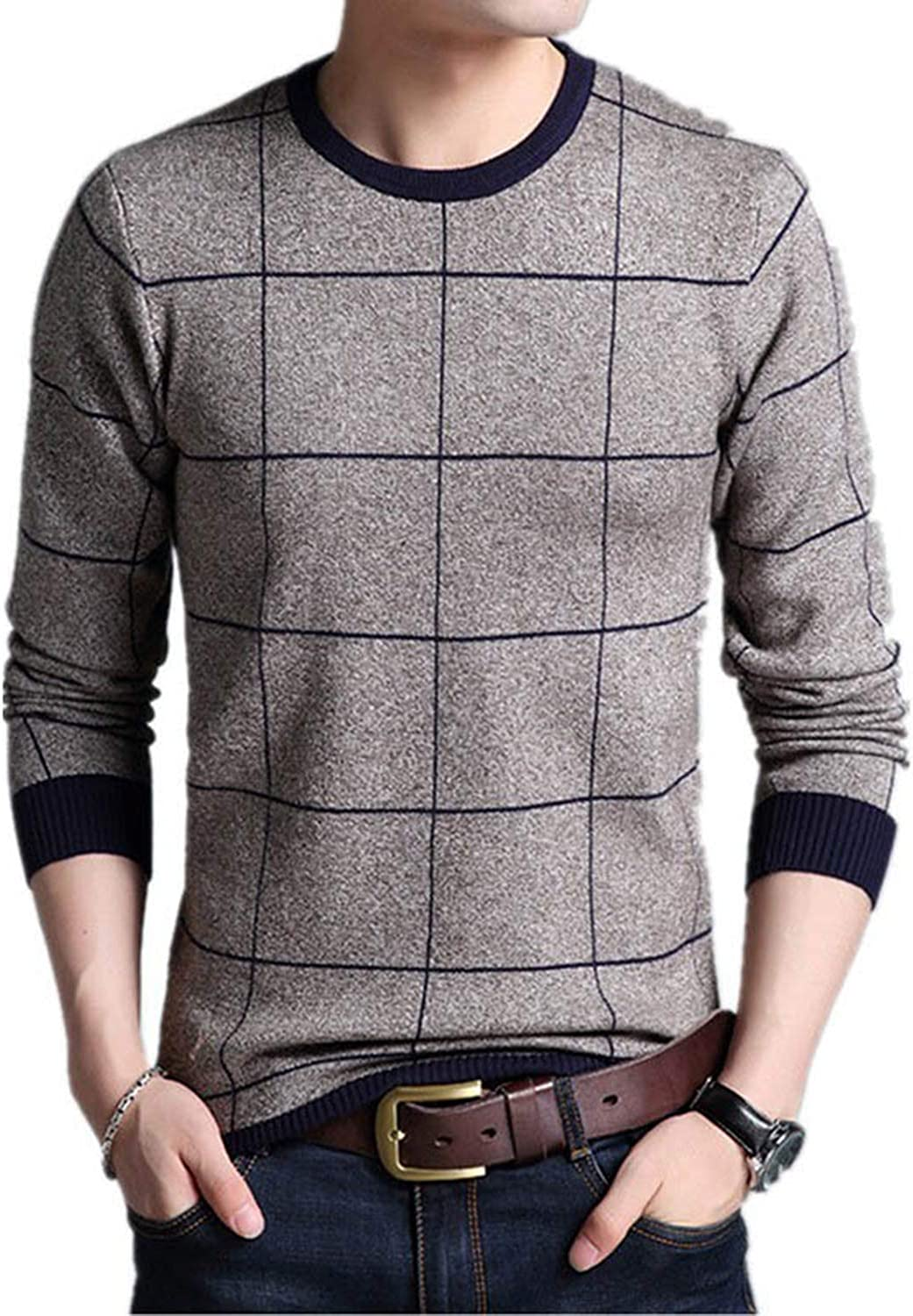 Stevenurr fashion-hoodies Thick Warm Sweater Men O Neck Slim Knitted Pullover Cotton Knitwear Pull Homme