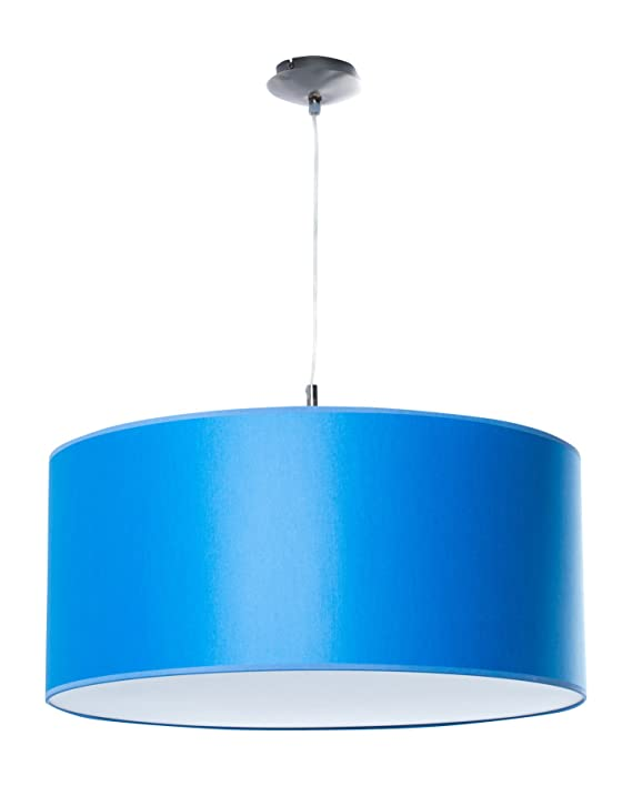 Clásica Lámpara de techo | Cadena de Iluminación de | lámpara infantil | Azul | XXL | colgante | Salón, comedor, Dormitorio, Cocina | habitación de ...