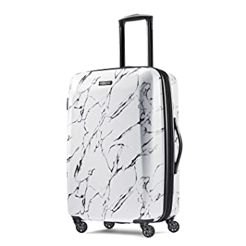 Amazon.com   American Tourister Moonlight Spinner 24, Marble   Suitcases d2d4c38e60