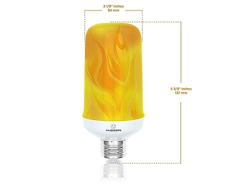 HUDSON LIGHTING LED Flame Effect Light Bulb HLFL01