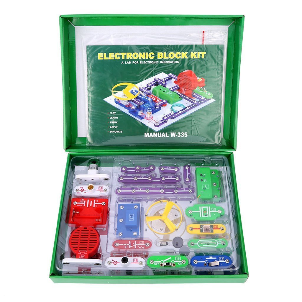 Elsky 335 Electronics Discovery Kit Smart Board Assembly Services Buy Circuit Assemblyelectronic Block Kiteducational Science Toygreat Diy Building Blocks Electric Circuits For