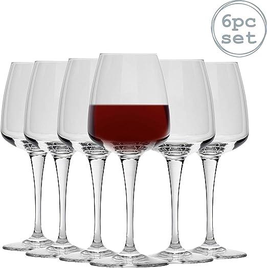 Bormioli Rocco Aurum - Copas de Vino Tinto - 520 ml - Pack de 6 ...