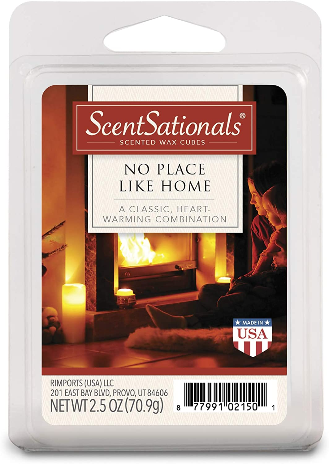 ScentSationals No Place Like Home Wax Cubes