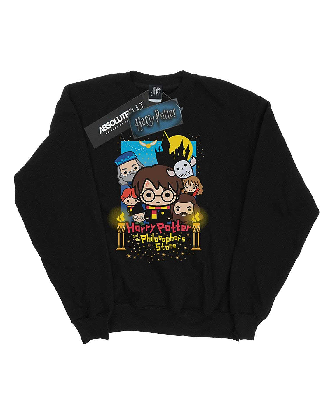 Harry Potter Ni/ñas Philosophers Stone Camisa De Entrenamiento