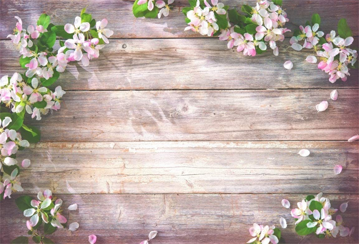 Amazon Com Csfoto 7x5ft Background Blossom Flower Frame On