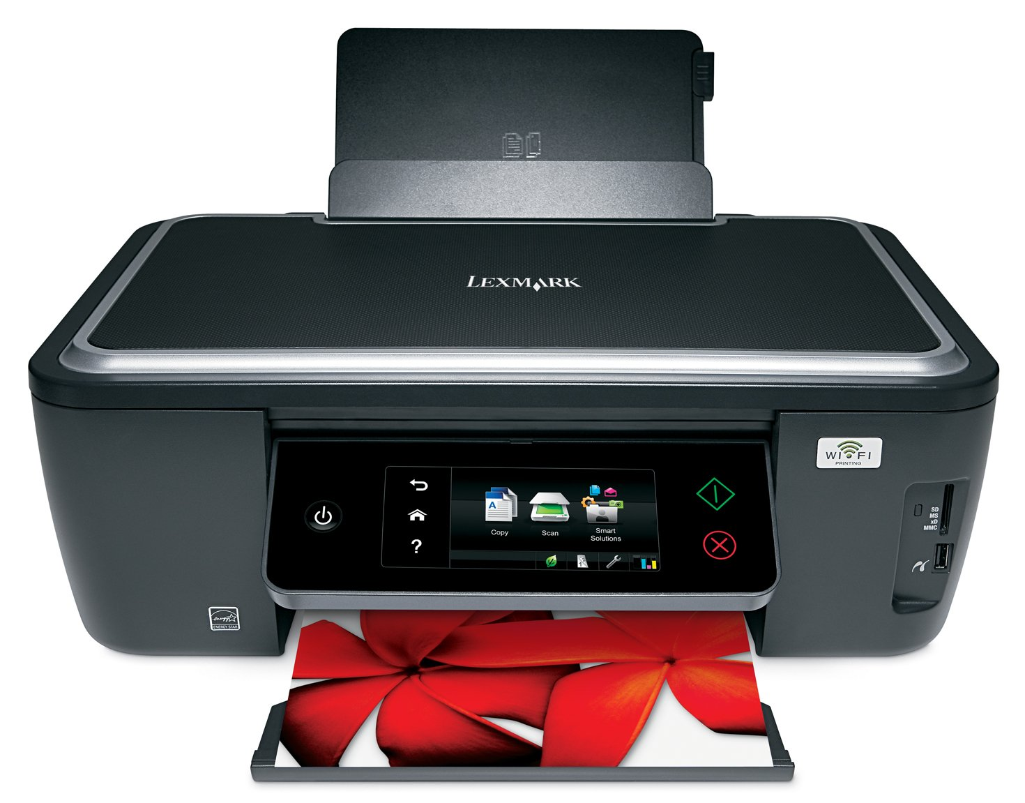 Lexmark Interact S605 Wireless Multifunction Inkjet Printer with Web-Enabled Touchscreen