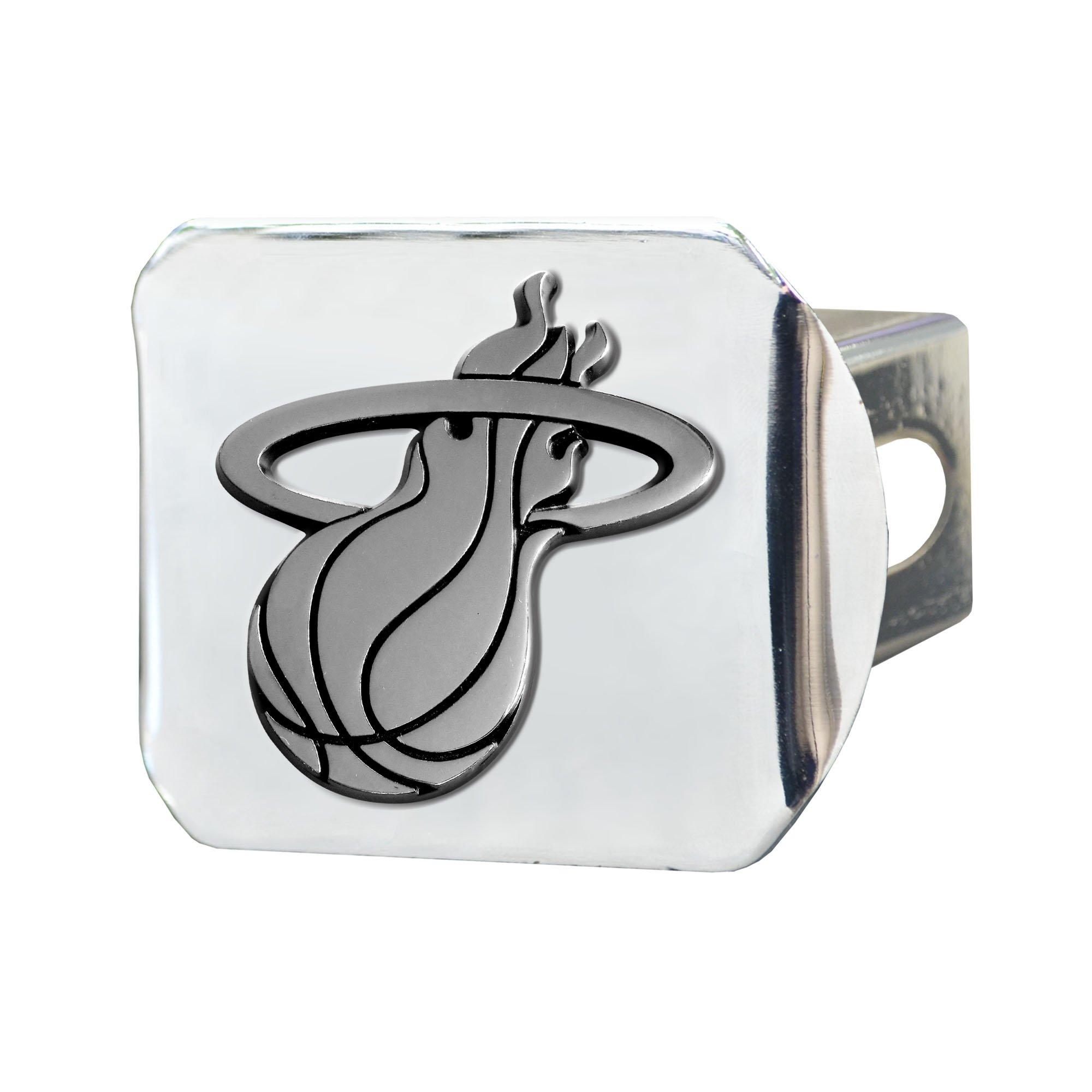 Fanmats NBA Miami Heat Chrome Hitch Cover