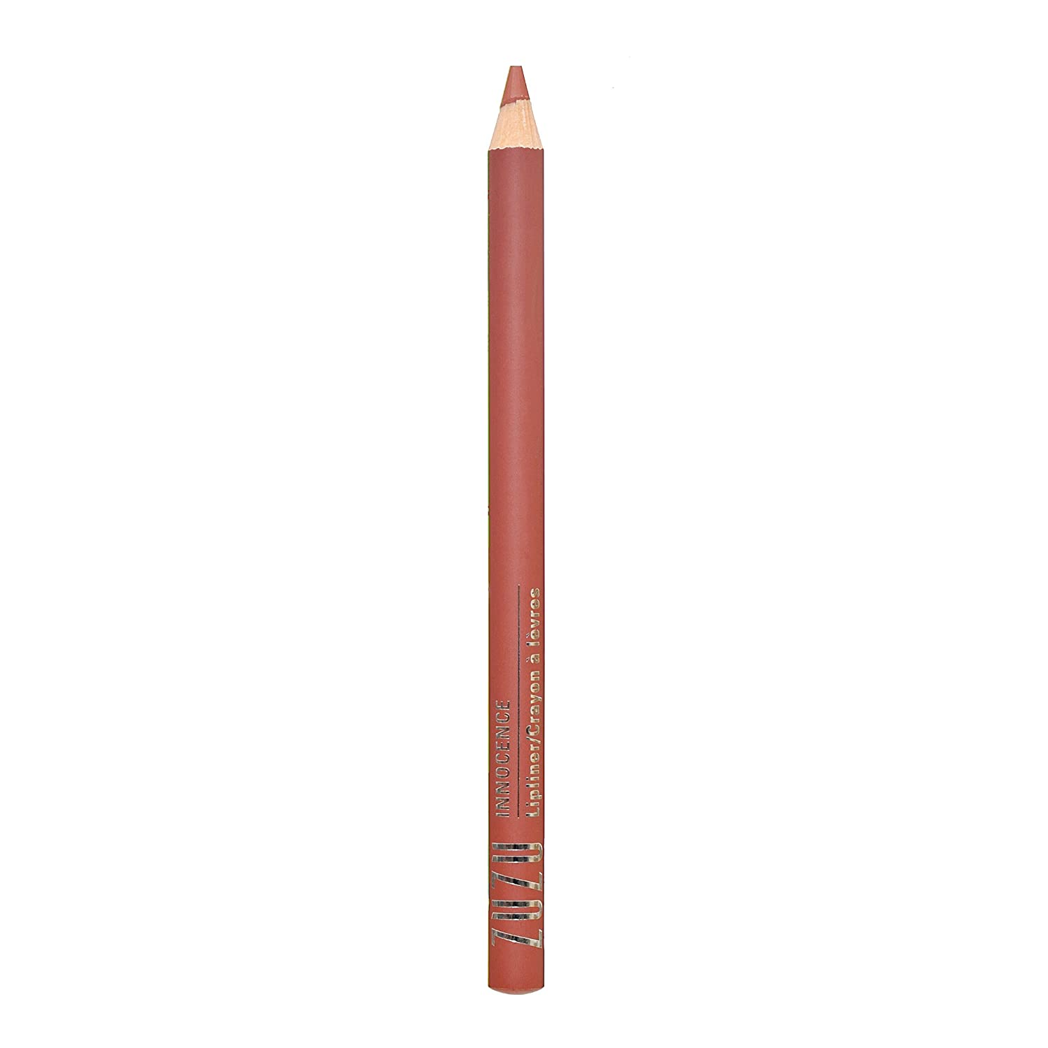 Zuzu Luxe Lipliner (Innocence)0.04 oz, richly pigmented and long lasting, Infused with Jojoba Seed Oil,Aloe for ultra hydrated lips. Natural, Paraben Free, Vegan, Gluten-free,Cruelty-free, Non GMO.