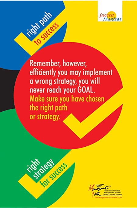 ManagementTalk Posters You Will Never Reach Your Goal by