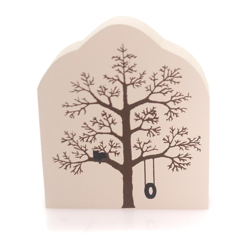 CATS MEOW VILLAGE Winter Tree Wood Season Bare Branch Swing Winter Tree F J DESIGNS