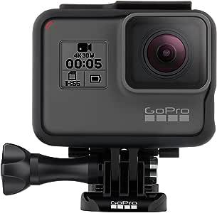 GoPro HERO5 Black Waterproof Digital Action Camera w/ 4K HD Video & 12MP Photo (Renewed)