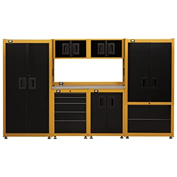 Cat Professional 7 Piece Garage Storage Suite   Designed, Engineered And  Assembled In The