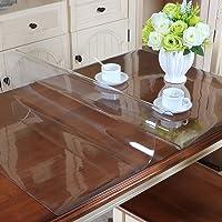 MAGILONA Homen - Protector de PVC impermeable para mantel, mesa, mesa de escritorio, cubiertas para mesa, tamaño personalizado