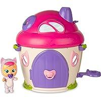 BEBÉS LLORONES LÁGRIMAS MÁGICAS La Casa de Katie - Casita mágica con música y pompa de jabón y la muñeca exclusiva Katie…