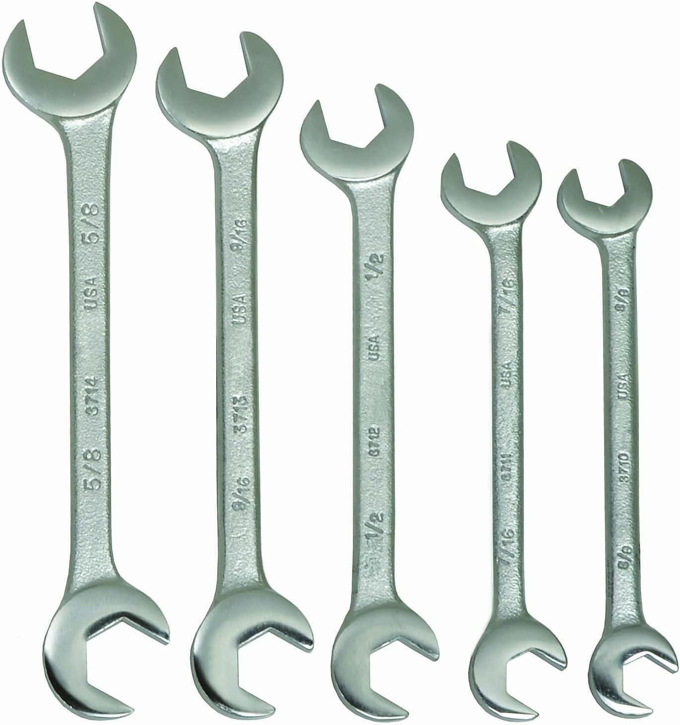 6pc Set Adjustable Pin Spanner Wrenches Williams USA #WS-476