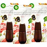 Airwick Essential Mist Refill Peony and Jasmine, Pack of 3