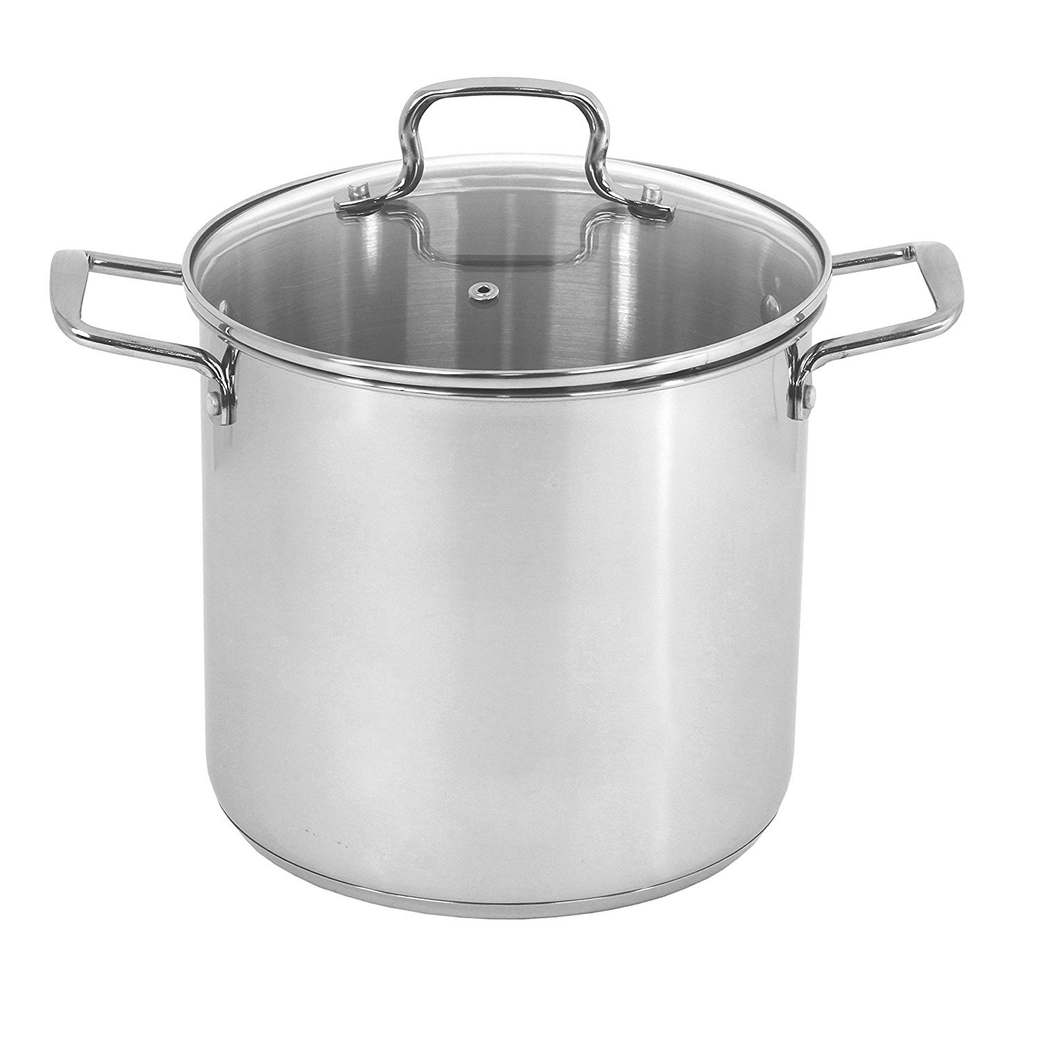 Oneida Heavy Duty Stainless Steel Induction Stock Pot, 8 Quart 35489