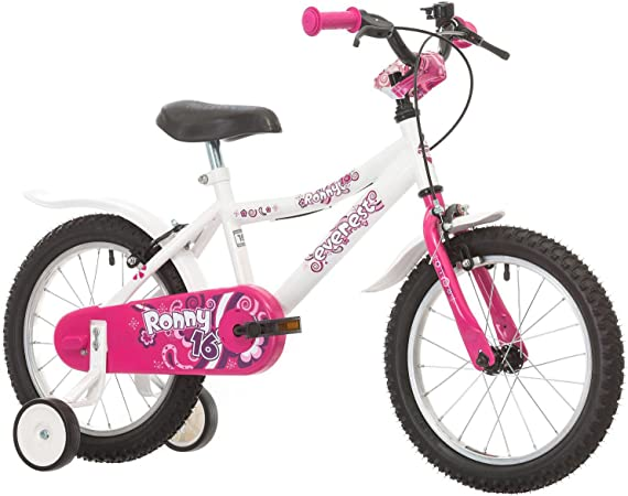 everest Ronny Bicicleta para niños, 16 Ruedas Rosa Bianco: Amazon ...