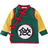 stylesilove Young Kids Baby Boys Traditional Asian Inspired Long Sleeved Top Sweatshirt, 3 Designs