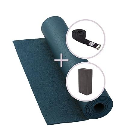 Esterilla de yoga (4,5 mm) en Juego con Yoga Klotz y yoga ...
