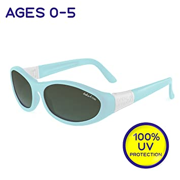 1d2f7ba58a1 Toddler and Kids Sunglasses with Strap - Baby Wrapz 2 Baby Sunglasses w   100%