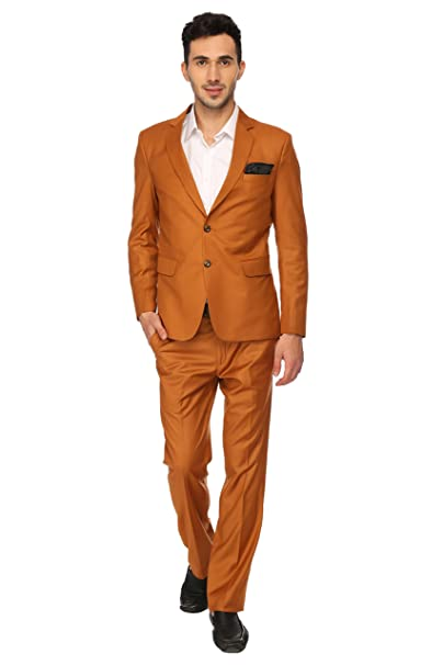 Upscale and Classy Rust Suit Urbane