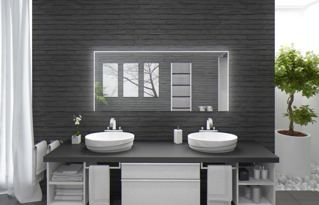beleuchtete spiegel elegant badspiegel mit beleuchtung. Black Bedroom Furniture Sets. Home Design Ideas