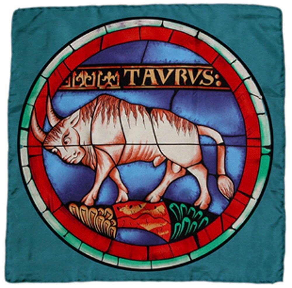 100 %シルクステンドグラススカーフ – Taurus B0083IPBMI