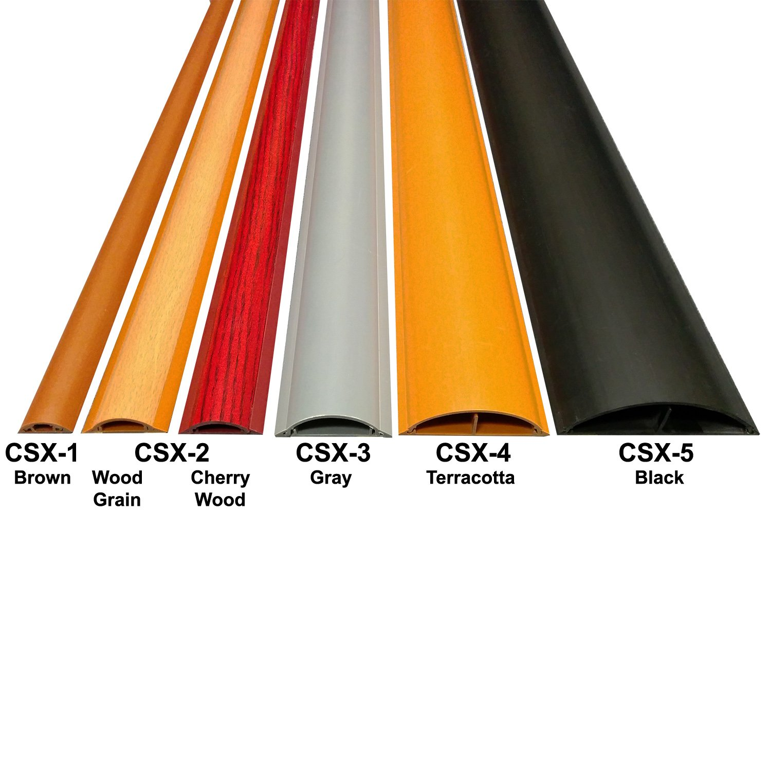 Cable Shield Cord Cover - Model: CSX-2 - Length: 31\