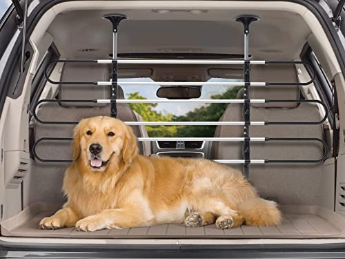 WeatherTech Pet Barrier – Keeps Pets Secure in Vehicle Behind Your 2nd or 3rd Row Seats