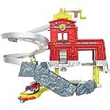 Matchbox Mattel W5882 Cliffhanger Feuerwache Spielset