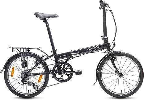 Dahon Speed D7 Bicicleta Plegable, Unisex Adulto, Negro Obsidian ...