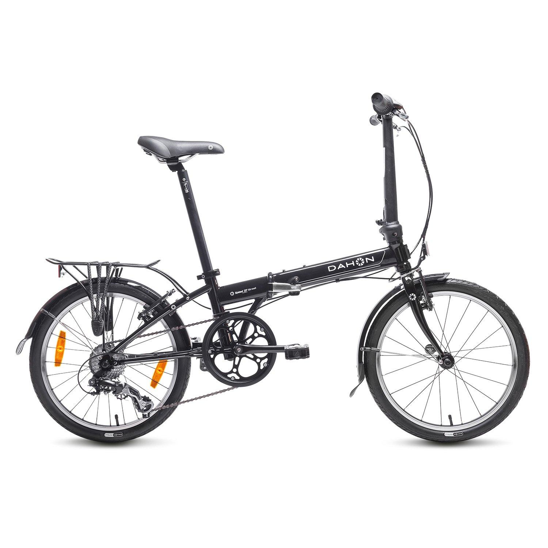 Dahon Speed D Bicicleta plegable Unisex adulto Negro obsidian
