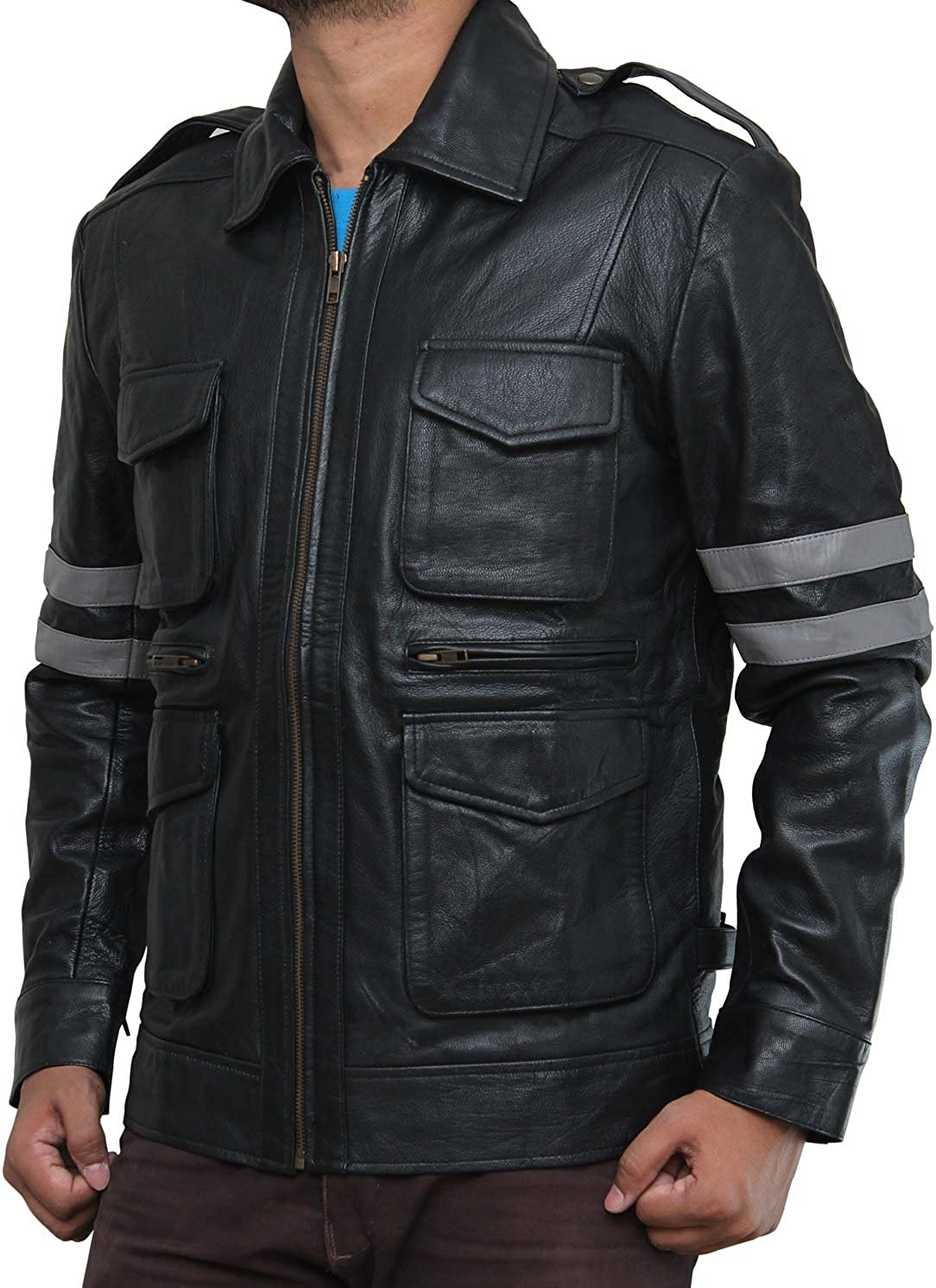 Decrum Resident 6 Kennedy Jacket L, Black - Resident 6