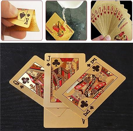 Bloomma tarjetas de juegos de poker perfecto para juegos de mesa, regalos de Navidad, 5.7 cm X 8.8 cm: Amazon.es: Hogar