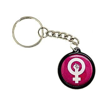 MALALPHA Llavero - Feminista Feminista Girl Power ...