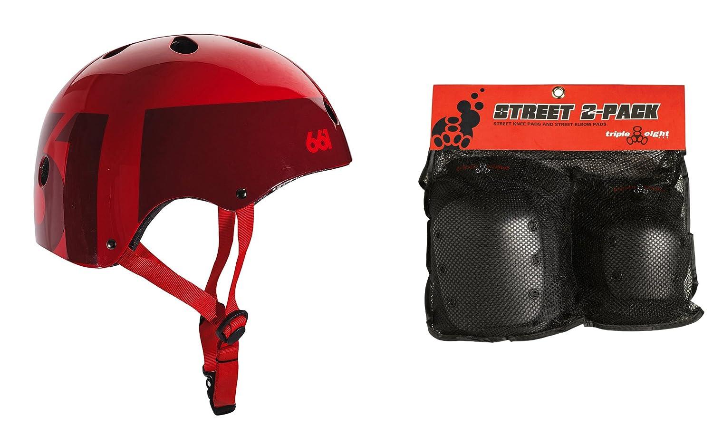 トップ 661 Large|レッド Dirt LidスケートボードBMXヘルメットCPSC レッド Certified Large +トリプル8膝肘パッド B073FP2B7V Large|レッド レッド Large, ファーストコレクション工房:6d30370e --- a0267596.xsph.ru