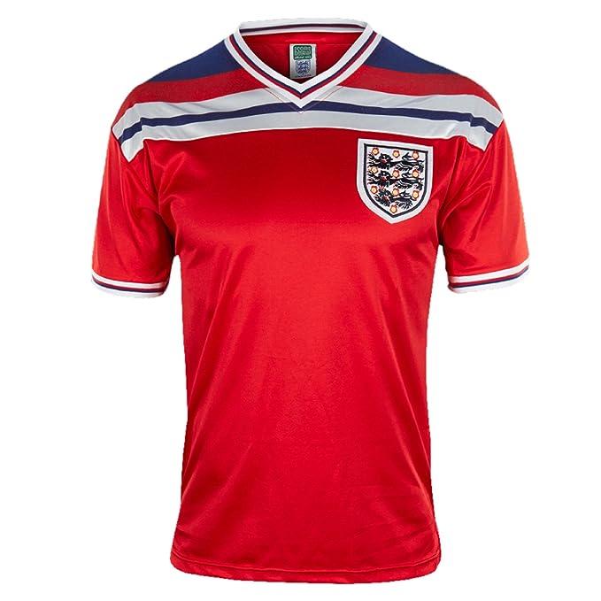 Inglaterra - Camiseta primera y segunda equipación final Copa del Mundo 1982 - Para hombre -