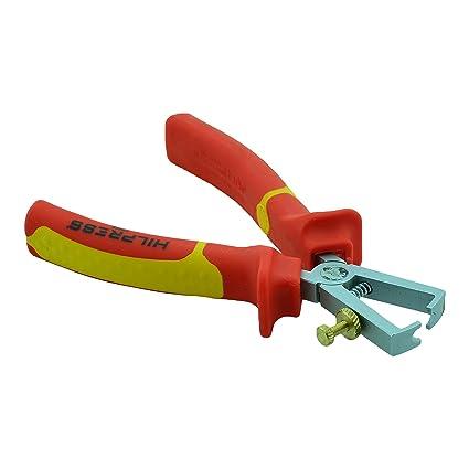 Alicate pelacables VDE 160 mm preciso Abi Coaxiale para cable de hasta diámetro 10 mm² Herramienta