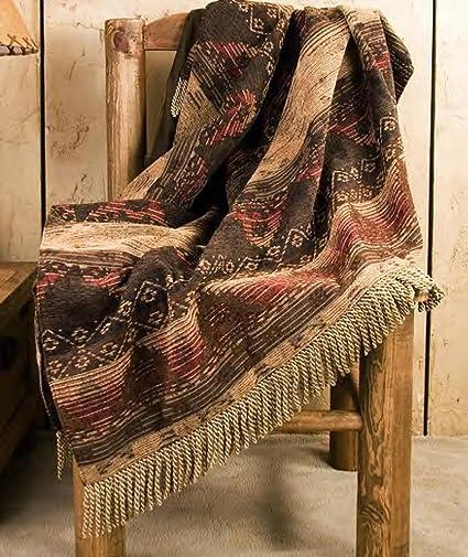 Southwestern Throw Blanket Simple Amazon Mision Del Rey Designer Southwest Throw Blanket 60x60